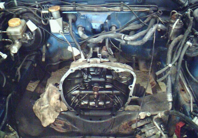 Sti Type R Donor Empty Engine Bay on Subaru Boxer Motor Starter Location